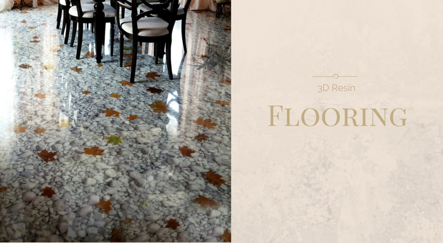 Many Designs Can Be Incorporated Into Floors We Like The Natural Elements Of This Stone And Leaf Effect Which Is Perfect To Tie In With A