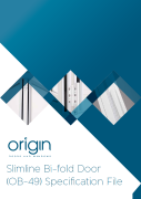 OB-49 Bi-fold door specification