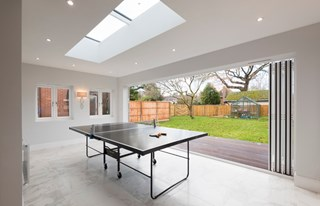 Kitchen extension invites more light into this period property