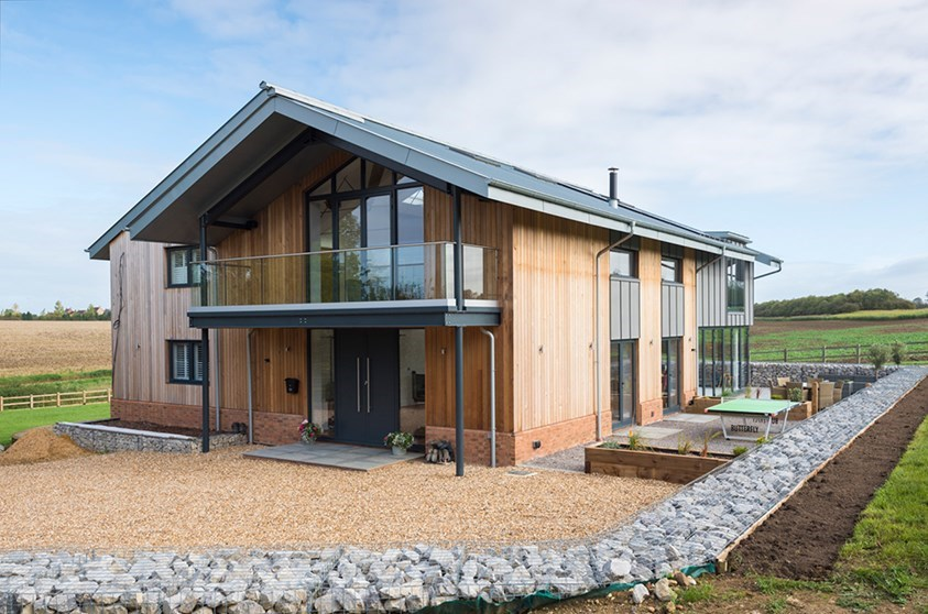 Grand Designs Inspired Barn Conversion In Hertfordshire