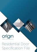 Front door specification