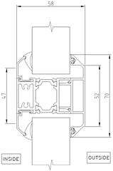 Midrail detail