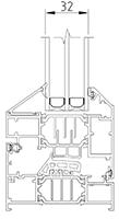 32mm Glazing option