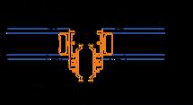 Mullion sightlines for internally beaded fixed frames