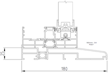Inline Slider Cill Details (Double)