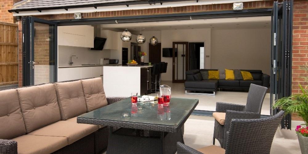 Kitchen Bi Fold Doors Options Sizes Costs And Design Ideas Origin