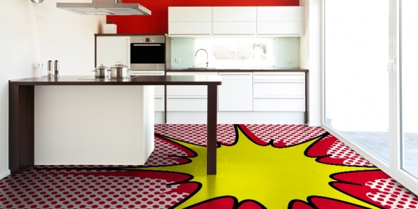 Pop Art Flooring by Mura Floor
