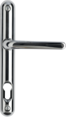 Chrome aluminium lever handle