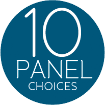 10 panel choices