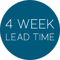 4 week lead time