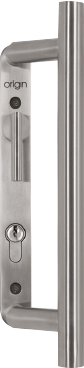 300mm combined bar handle with thumbturn
