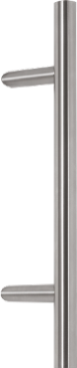 500mm stainless steel bar handle with separate thumbturn