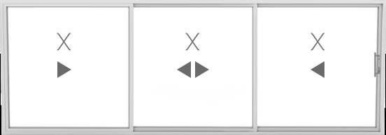 XXX (3 sliding)