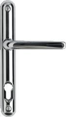 Chrome offset lever handle
