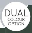 Dual Colour Option