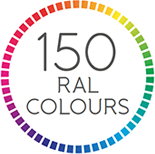 150 RAL colours