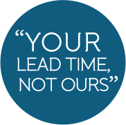 Your Lead Time, Not Ours