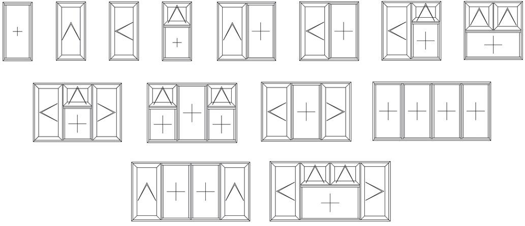 OW-70 window configurations
